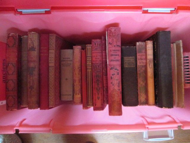Livres romans anciens XIXè et XXè siècle 5 Herblay (95)