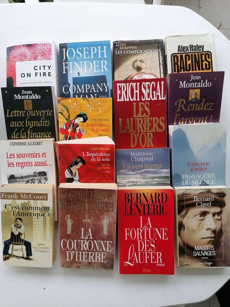 livres romans 5 Valbonne (06)