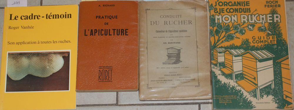 4 livres ruche abeille apiculture 90 Montcy-Notre-Dame (08)
