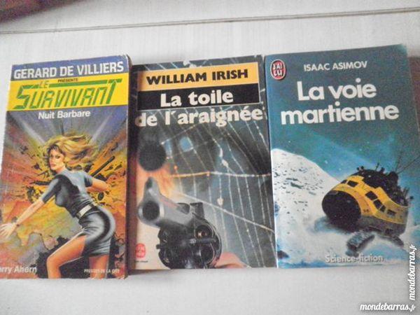 lIVRES DE SCIENCES FICTION ET ROMAN lot 2 2 Chanteloup-en-Brie (77)