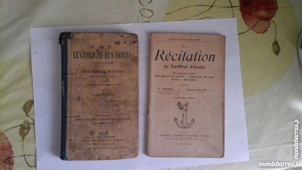 Livres scolaires anciens 20 Menton (06)