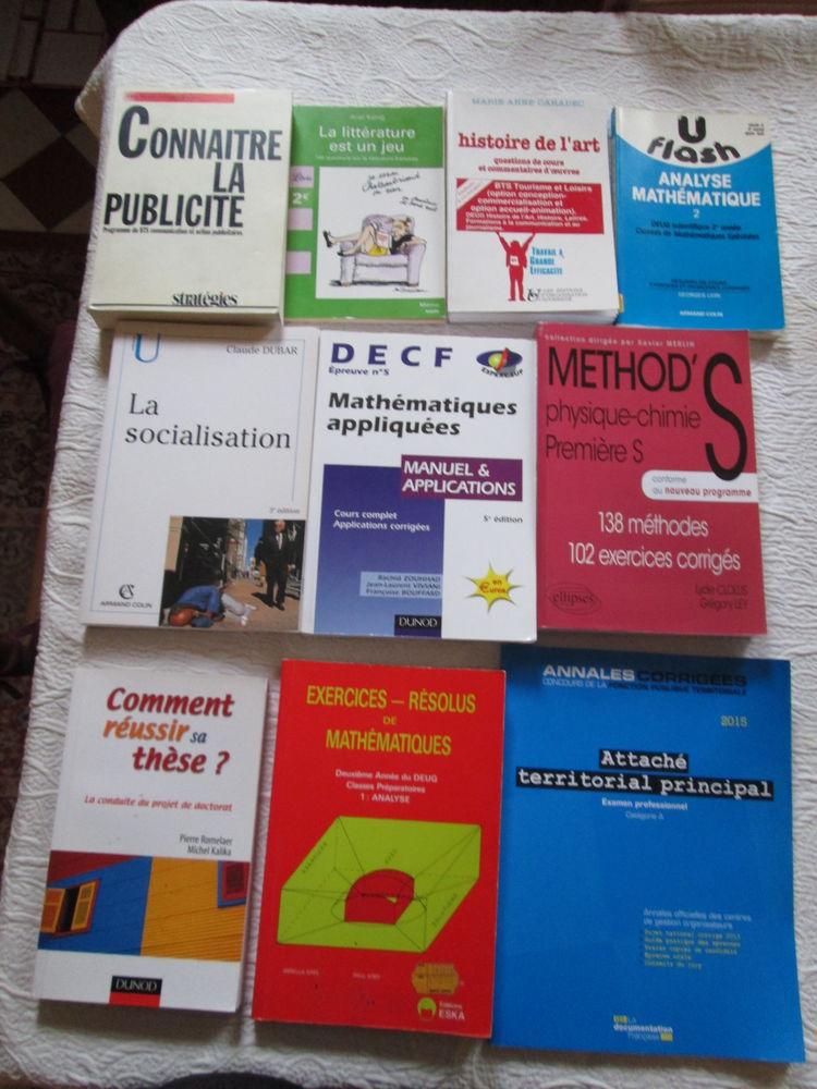 Livres scolaires et d'études 3 Herblay (95)