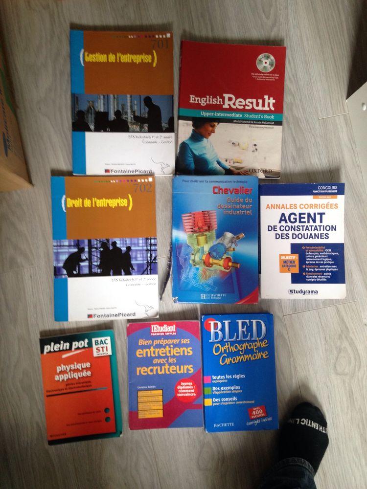 Livres scolaires (gestion niveau BTS) + prépa bac et concour douane neuf. 2 Troyes (10)