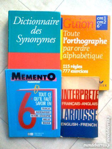 4 livres scolaires cm1 à 6è - zoe 3 Martigues (13)
