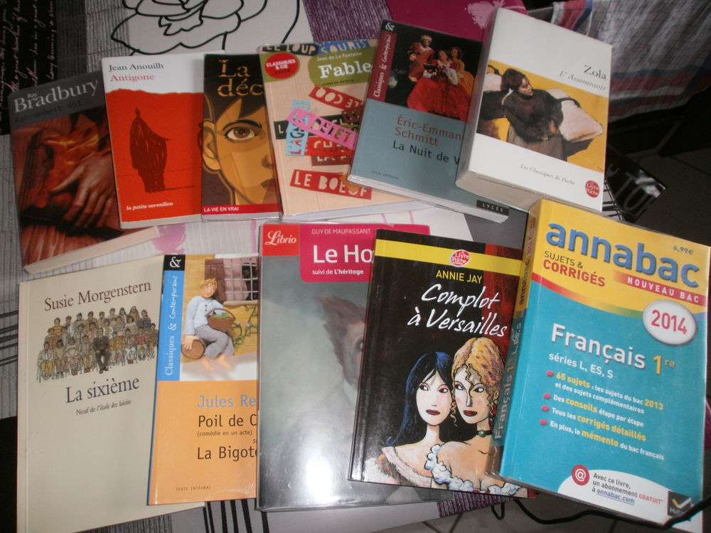 livres scolaires 3 Montdidier (80)