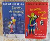 LOT DE 2 LIVRES DE SOPHIE KINSELLA 6 Attainville (95)