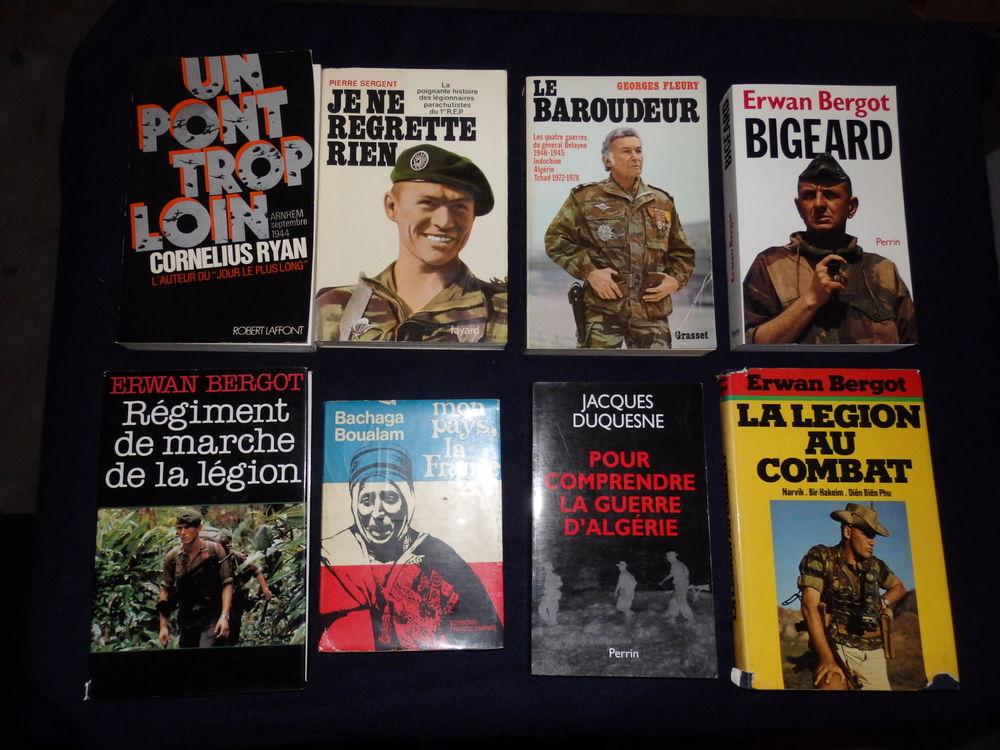 Livres à sujets militaires 5 Saint-Raphaël (83)