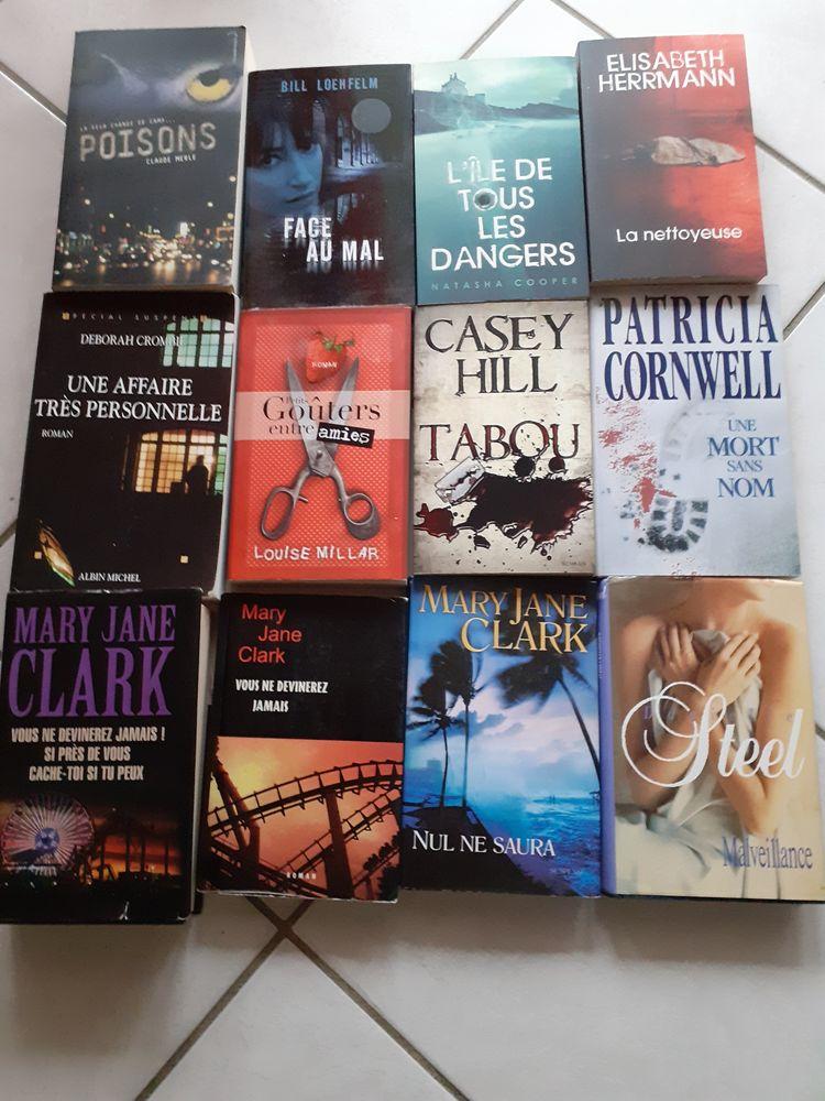 Livres suspense, thrillers, policiers.... 2 Villeurbanne (69)
