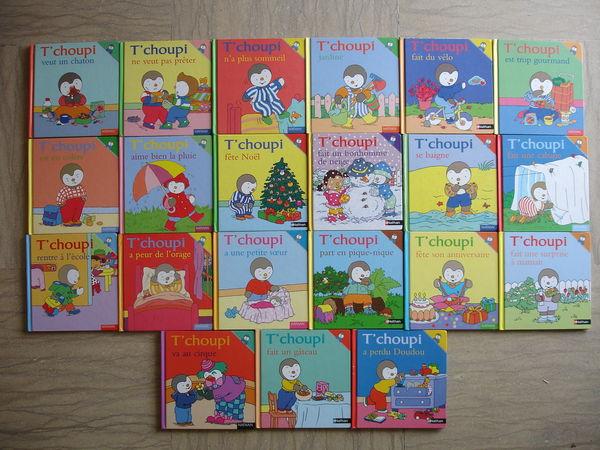 Lot De 10 Livres Tchoupi