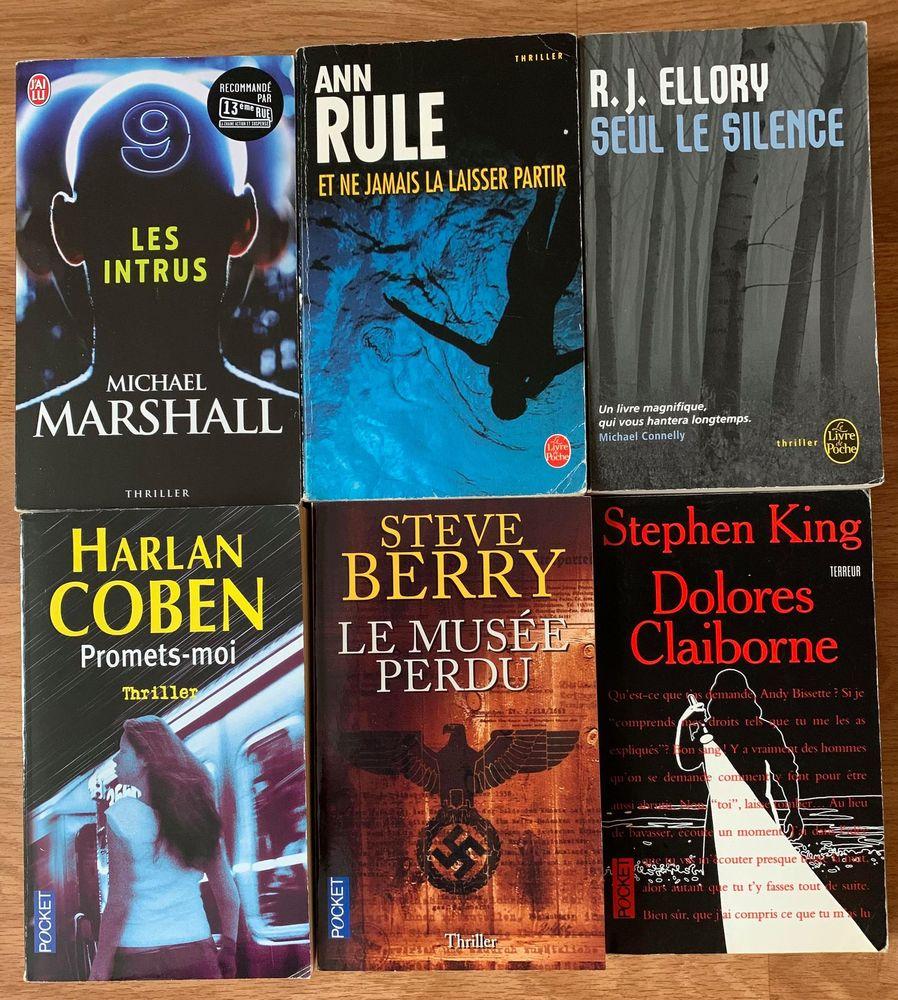 6 livres Thriller 15 Les Pavillons-sous-Bois (93)