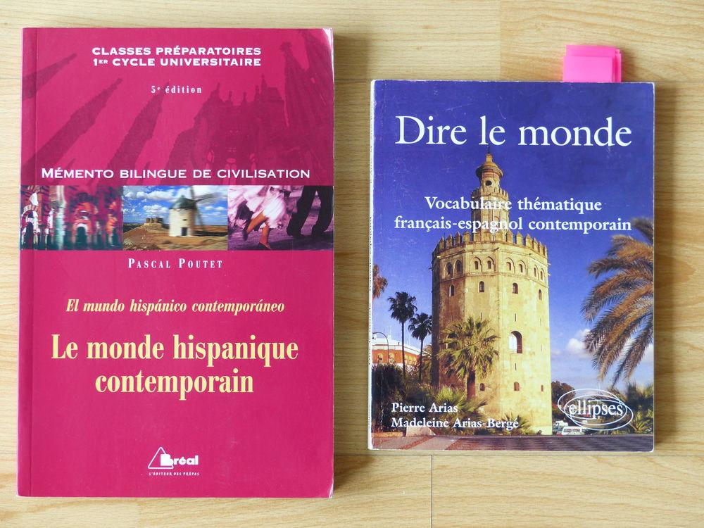 Livres universitaires sur la langue espagnole Livres et BD