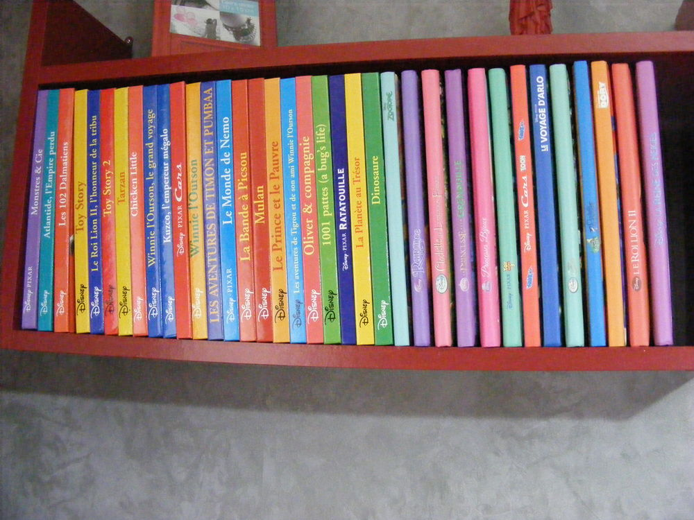 Livres Walt DISNEY 200 Saint-Pompont (24)
