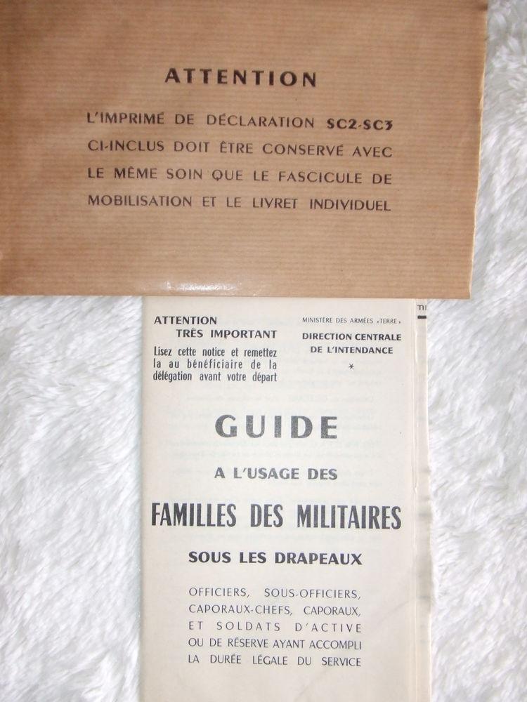Livret de solde et guide à l'usage des familles  10 Poissy (78)