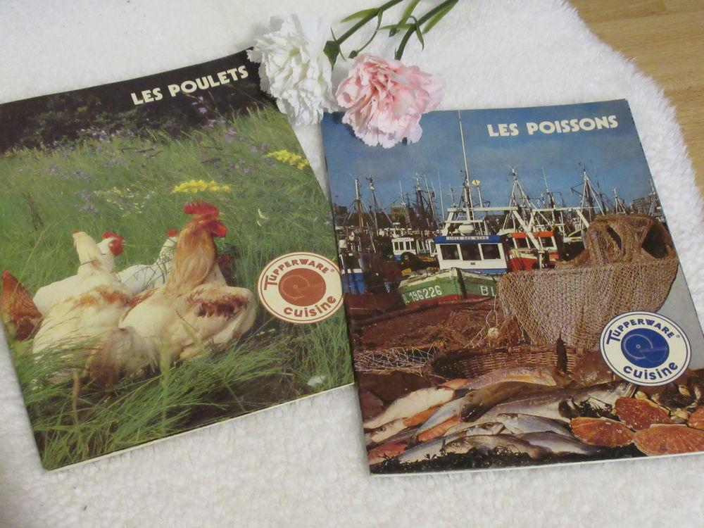 Livrets de cuisine Vintage (lot de 2) - Poulet et Poisson -  8 Livry-Gargan (93)