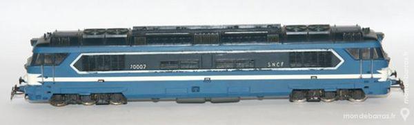 Locomotive CC 70002 Jouef réf 8561 50 Yzeure (03)
