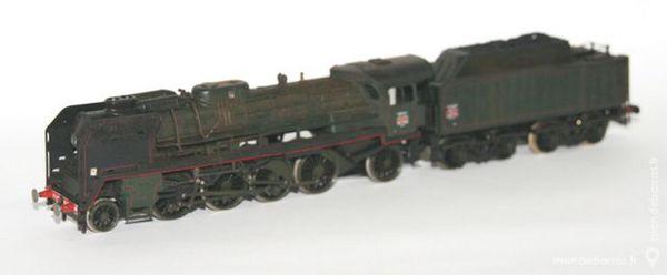 Locomotive Mikado 141-P-102 Jouef réf 8269 100 Yzeure (03)