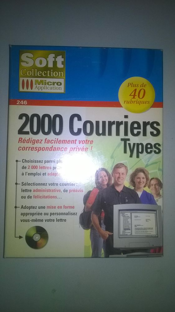 Logiciel 2000 Courriers Types Micro Application 2 Talange (57)