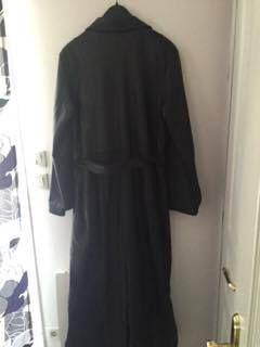 Long manteau femme cuir noir 150 Calais (62)