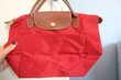 Longchamps Sac pliage porté main Taille S Rouge NEUF Maroquinerie