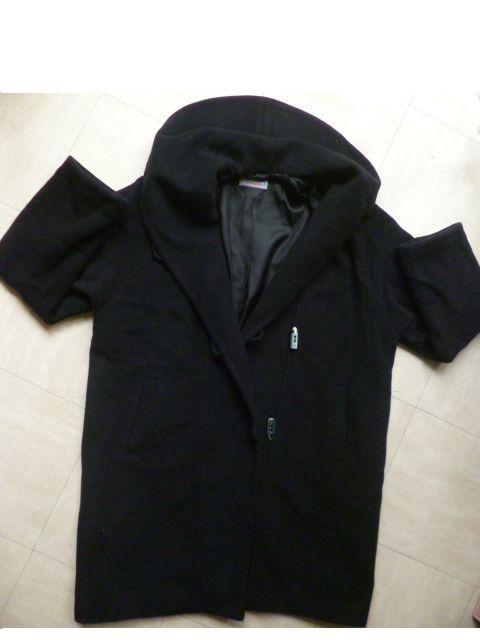 2 longs MANTEAUX laine, cachemire, pantalon, haut - 40 - 6 Martigues (13)