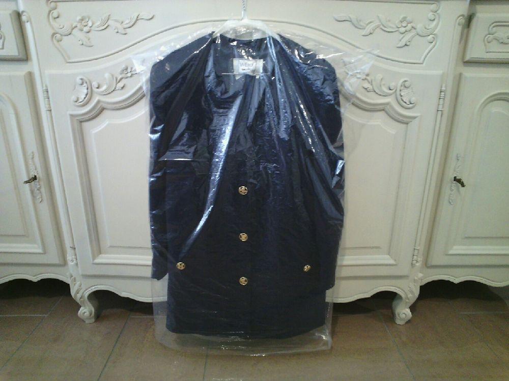 Longue veste bleu marine Weill taille 48 TBE 80 Reims (51)