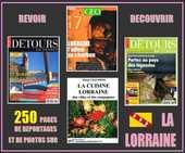 LA LORRAINE - détours en France  - BALADES / prixportcompris 18 Nancy (54)