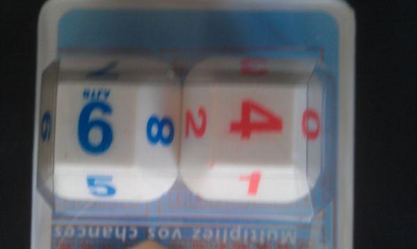 jeu de dés de Loto 0 Lyon 1 (69)