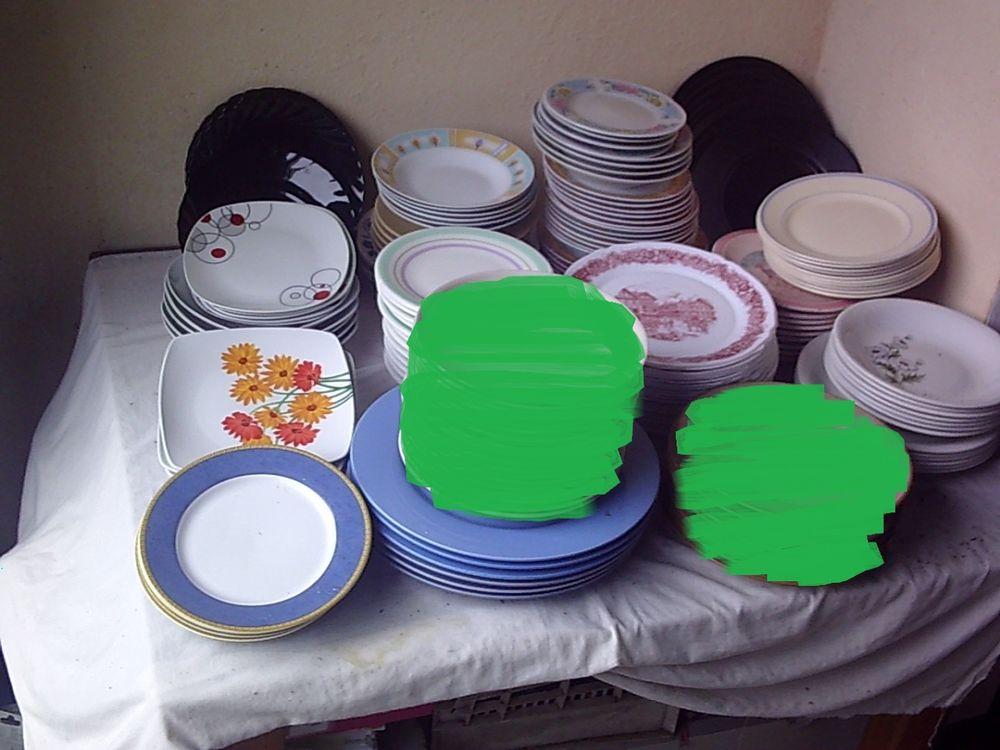 Lots Assiettes à Dessert, Plates et à Soupe 1 Bouxwiller (67)