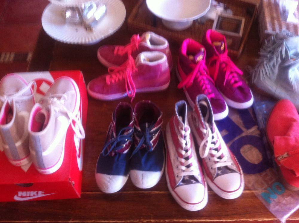 lots de baskets Nike et bensmon taille 38 et 37  140 Orsay (91)