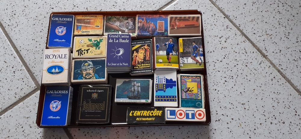 lots de boîtes d'allumettes 15 Le Landreau (44)