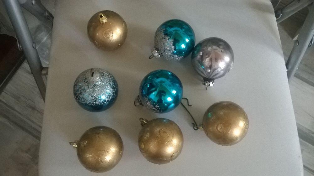 Lots de 8 Boules de Noel 4 Talange (57)