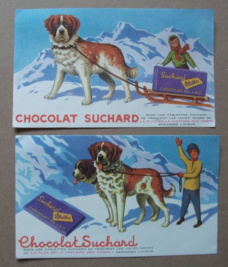 Lots de Buvards : Suchard, Grosjean et Scaramelli 5 Castelnaudary (11)