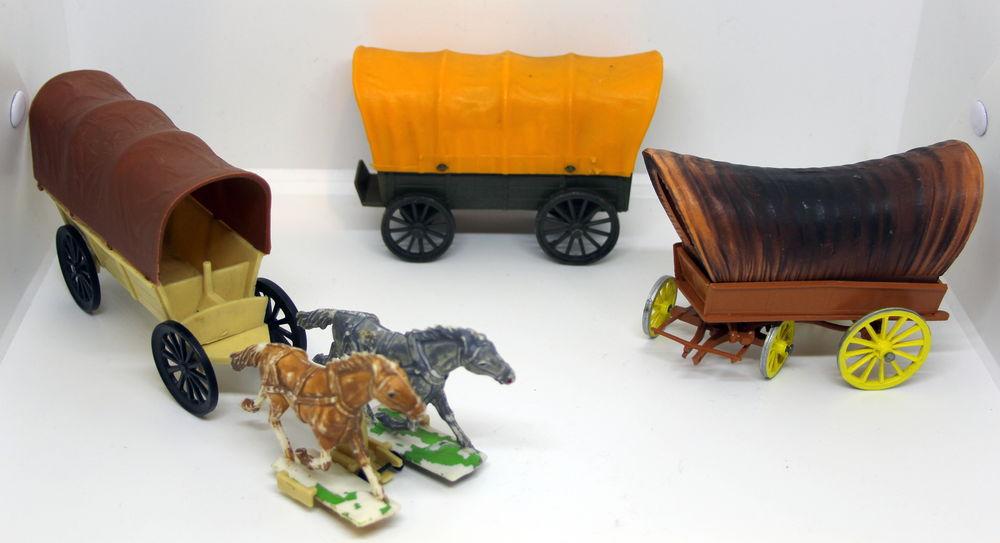 Lots de 3 chariots western CLAIRET STARLUX 30 Issy-les-Moulineaux (92)