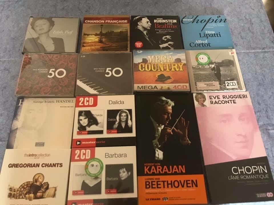 lots de 14 coffrets cd de music 20 Le Blanc-Mesnil (93)