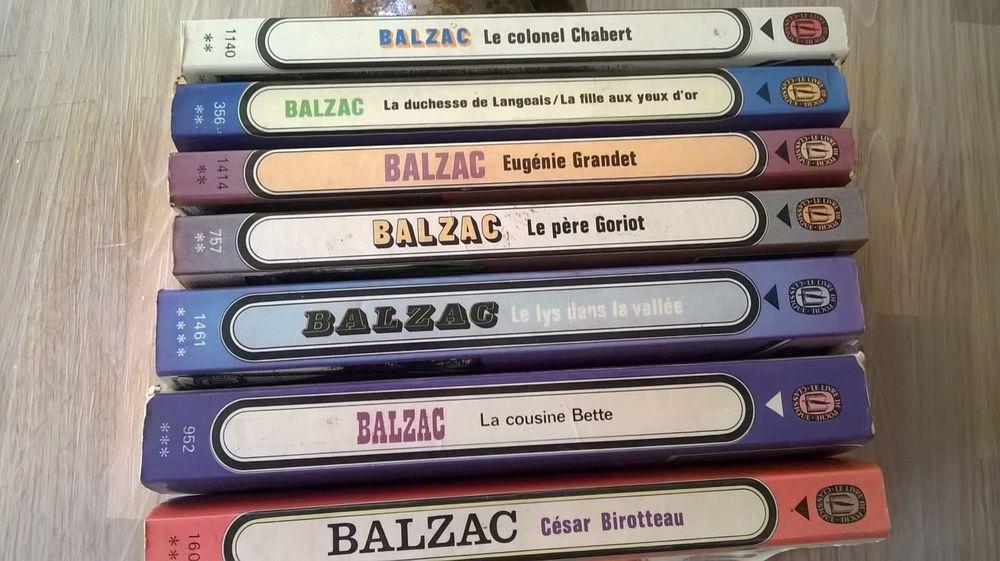 Lots de livres de Balzac 10 Vernouillet (28)