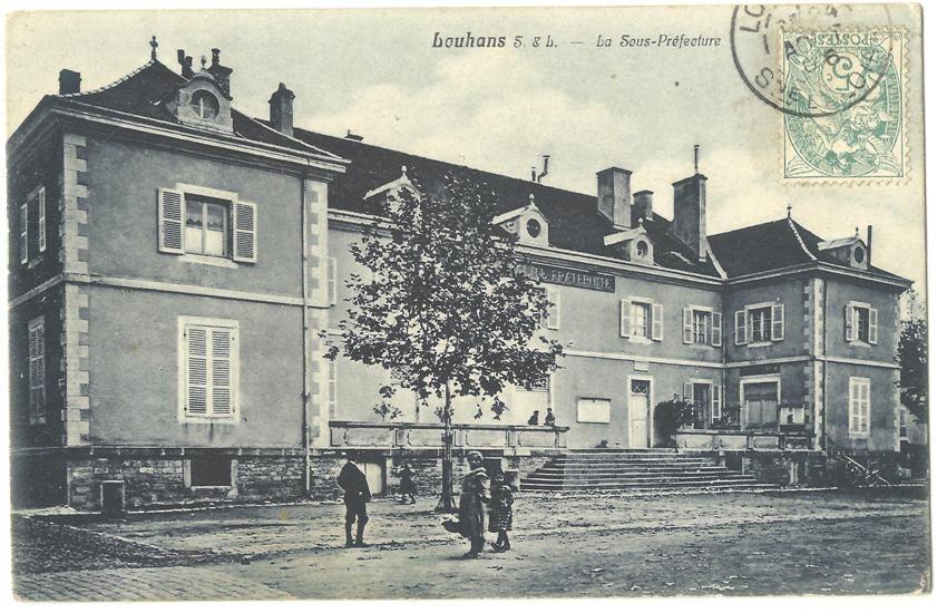 CPA 71 LOUHANS - La Sous-Préfecture 3 Louhans (71)