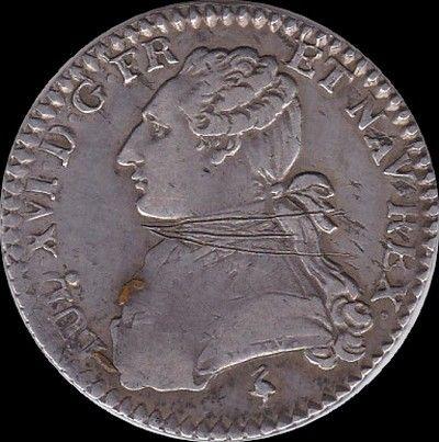 Louis XVI 10ème d'écu 1777A Paris 60 Couzeix (87)