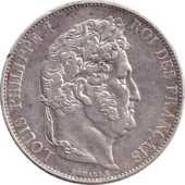 Louis Philippe 5 francs 1848A 60 Couzeix (87)