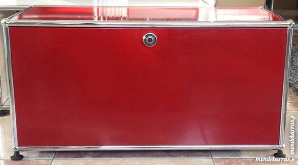 lowboard tv/hifi usm haller rouge à 1 porte abatt 540 Provins (77)