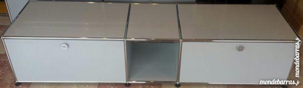 lowboard tv/hifi usm haller gris clair à 2 portes 1050 Provins (77)