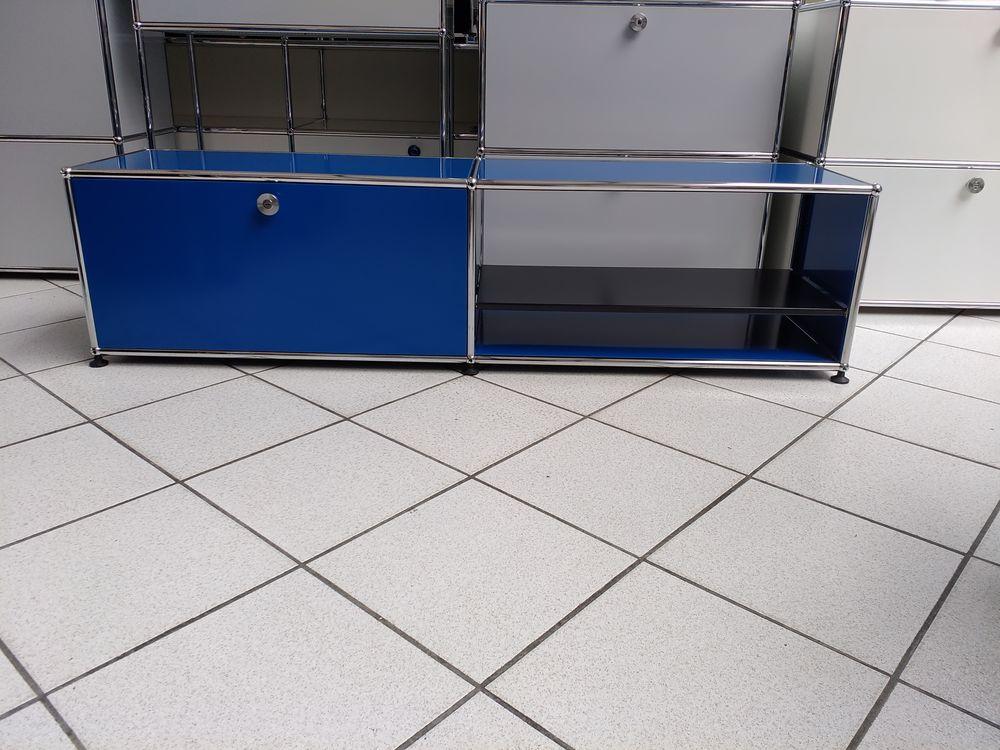 Lowboard tv/hifi usm haller 2 cases bleu gentiane 750 Provins (77)