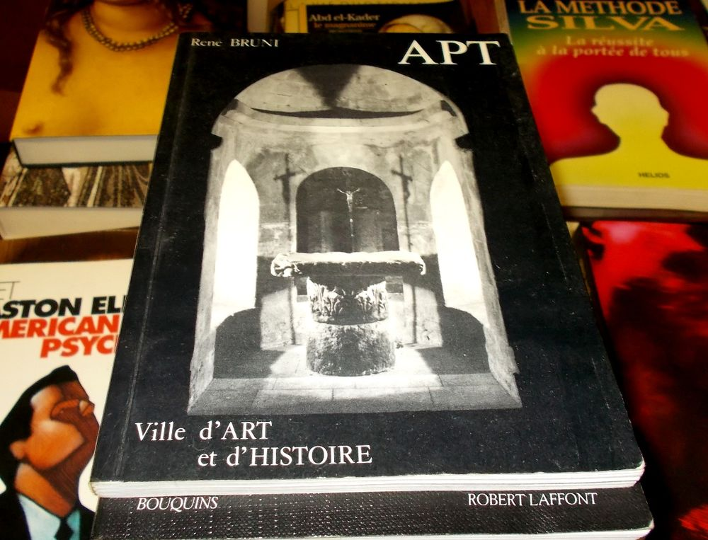 APT (Lubéron) ville d'art et d'histoire René Bruni Livres et BD