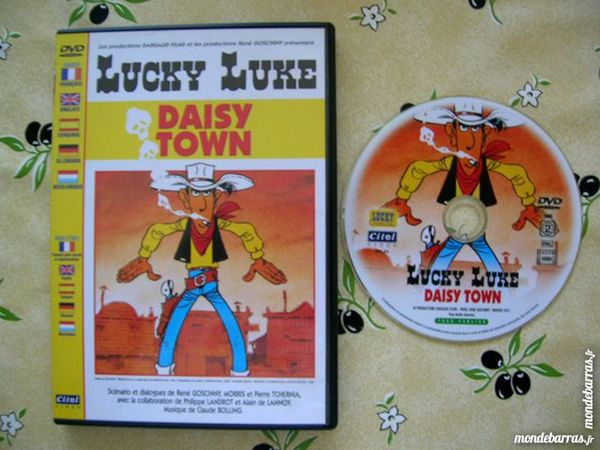 DVD LUCKY LUKE DAISY TOWN - Dessin Animé 5 Nantes (44)