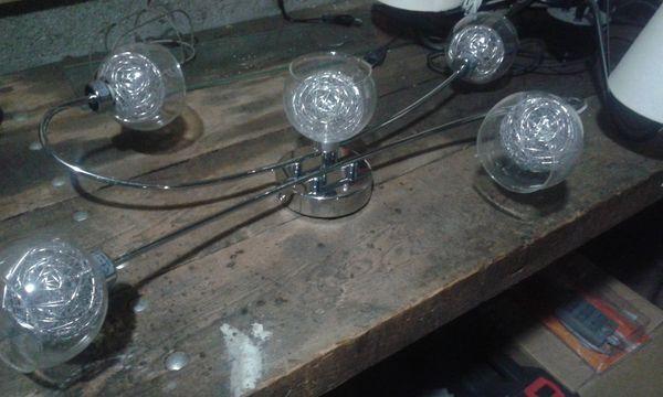 luminaire couleur argent 0 Saussay (28)