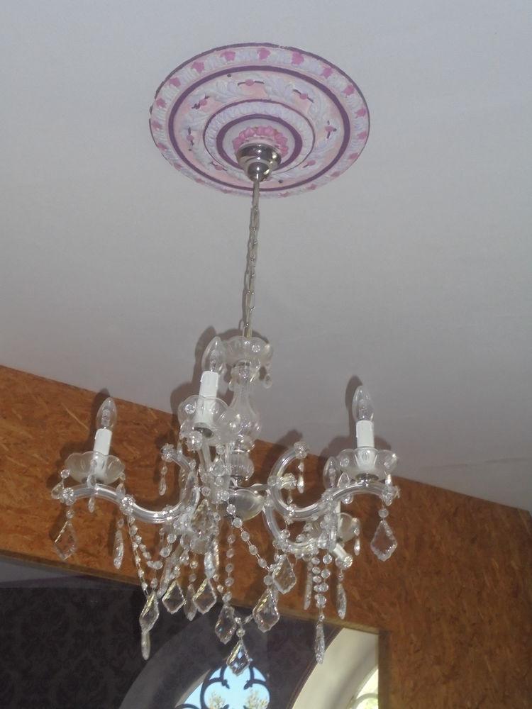 luminaire à pampilles 5 branches  50 Salies-de-Béarn (64)