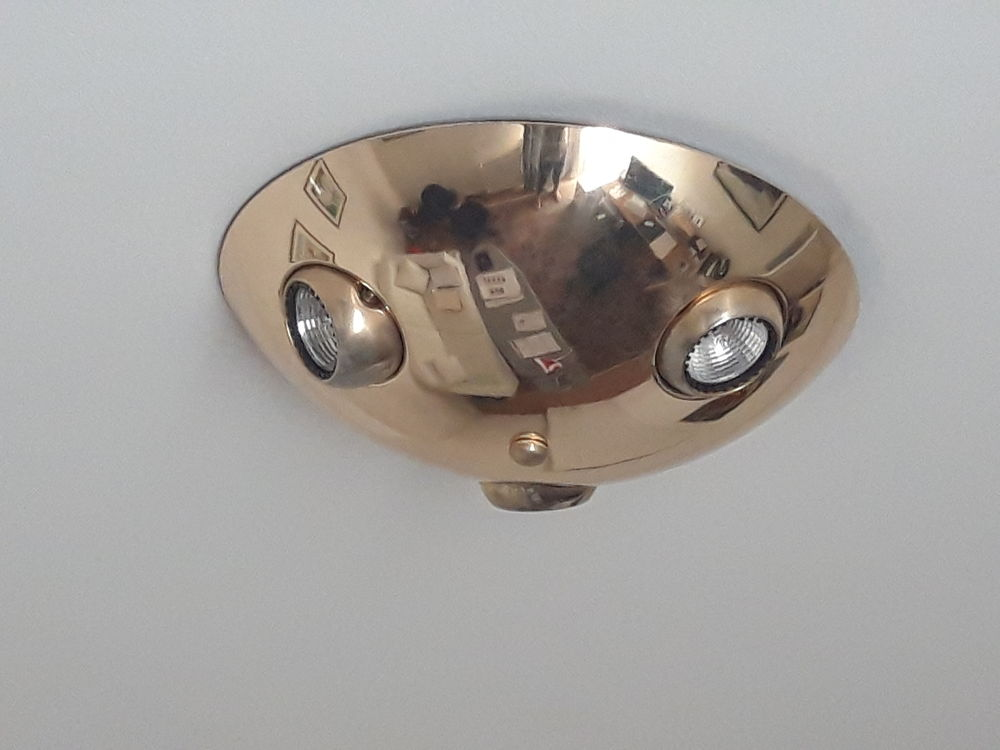 2 Luminaires plafond  25 Nantes (44)
