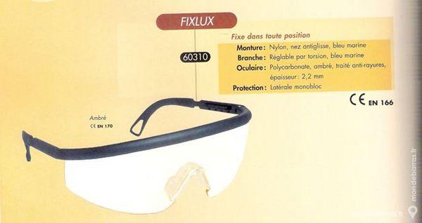 Lunette de protection Monobloc FIXLUX 60310 Bricolage