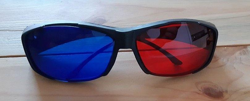 Lunettes sur-lunettes 3D anaglyphe Rouge/Bleu neuves 0 La Seyne-sur-Mer (83)