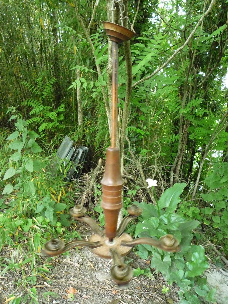 Lustre 1950 h 74cm diamètre 45cm 15 Castres (81)