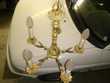Lustre antique en bronze doré. 0 Étampes (91)
